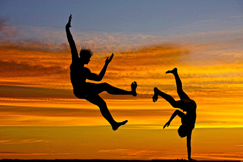 Capoeira in the Sunset | by Beto Frota