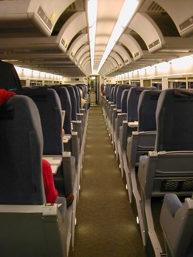 via rail renaissance seat coach interior james benedict brown flickr. Black Bedroom Furniture Sets. Home Design Ideas
