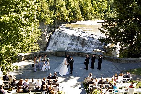 Letchworth Wedding | Letchworth State Park Wedding | Brady ...