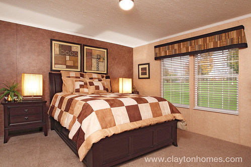River Run - Master Bedroom | by www.ClaytonHomes.com