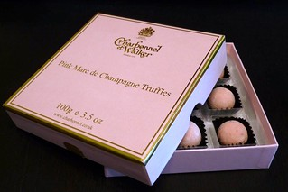 pink champagne truffles | by letyeu