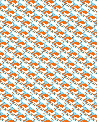 car pattern for illustration friday chragokyberneticks flickr