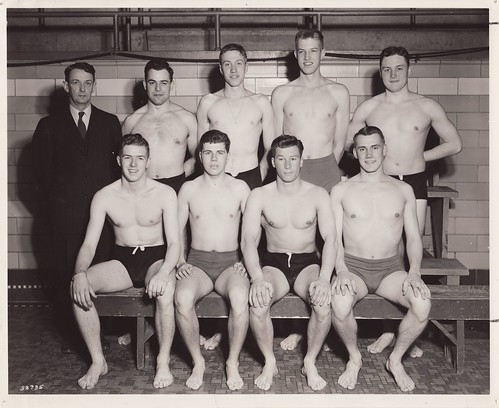 1945 U of M Swimming Team | by Mamluke