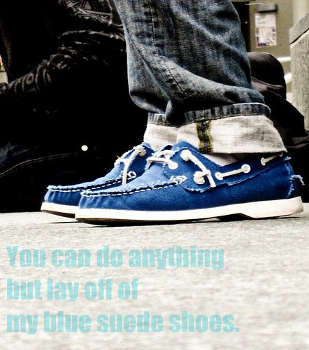 Blue Shoes Song