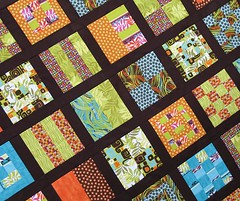 Mod Sampler Quilt Along #2 - Angle View | by maripenquilts