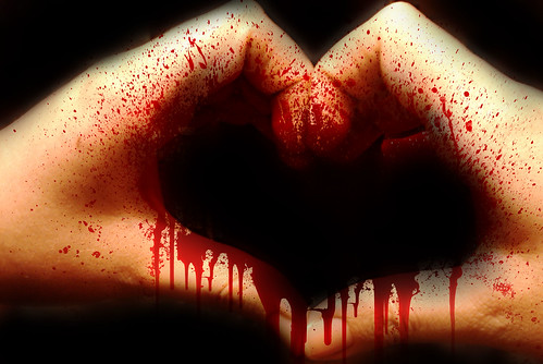 (257/365) Bloody heart | by Sarah G...