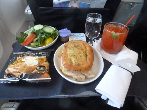 """American Airlines First Class """"Snack"""" 