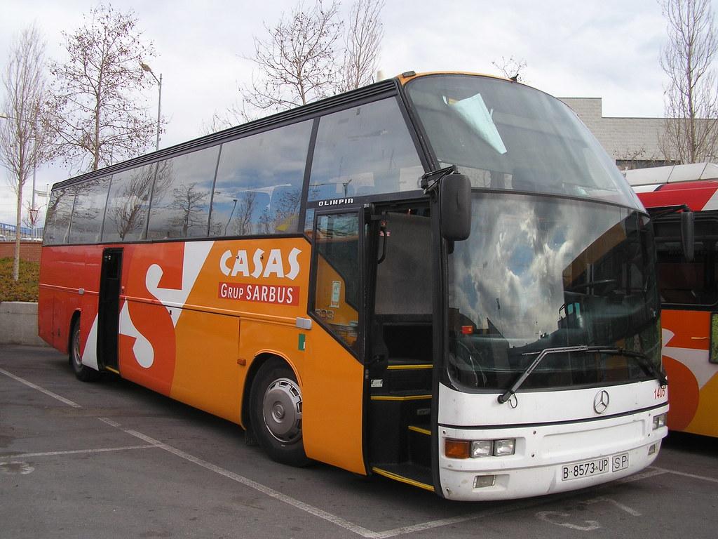 autobus mercedes carrossat per ayats de l'empresa casas de… | flickr