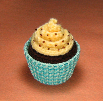 Amigurumi Cupcake Plush Amigurumi Cupcake Plush With Blue Flickr