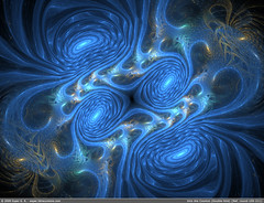 Into the Cosmos (Double-fold) {Fractal Flame round-100-211} | by exper