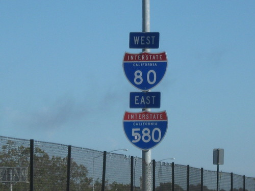 West i-80 and East 580, um, yeah | by denis408