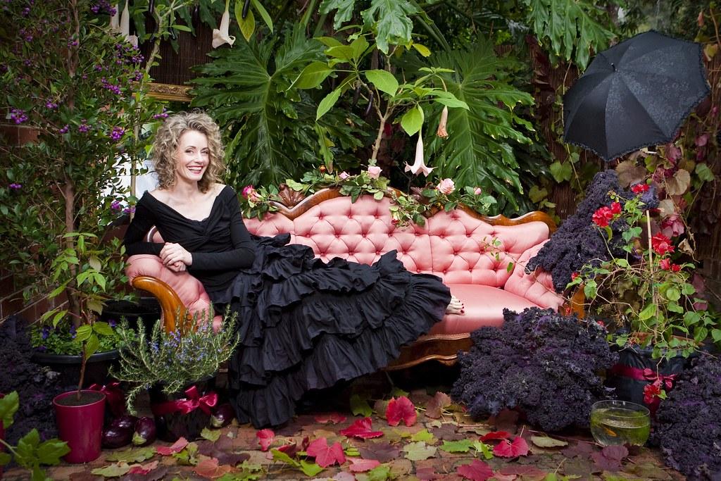 ... Edible Gothic Garden And Cecilia | By Cecilia Macaulay