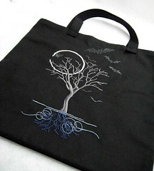 Moon-lit tree tote bag | by KCarlson_StL