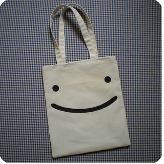Smiling shopping bag | by Memi The Rainbow