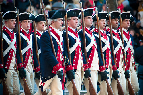 Obama Inauguration - Soldiers of the 3rd U.S. Infantry Regiment (The Old Guard) accompany the Fife and Drum Corps | by xtol7