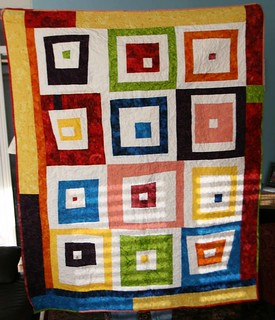 first improv quilt | by ashmom