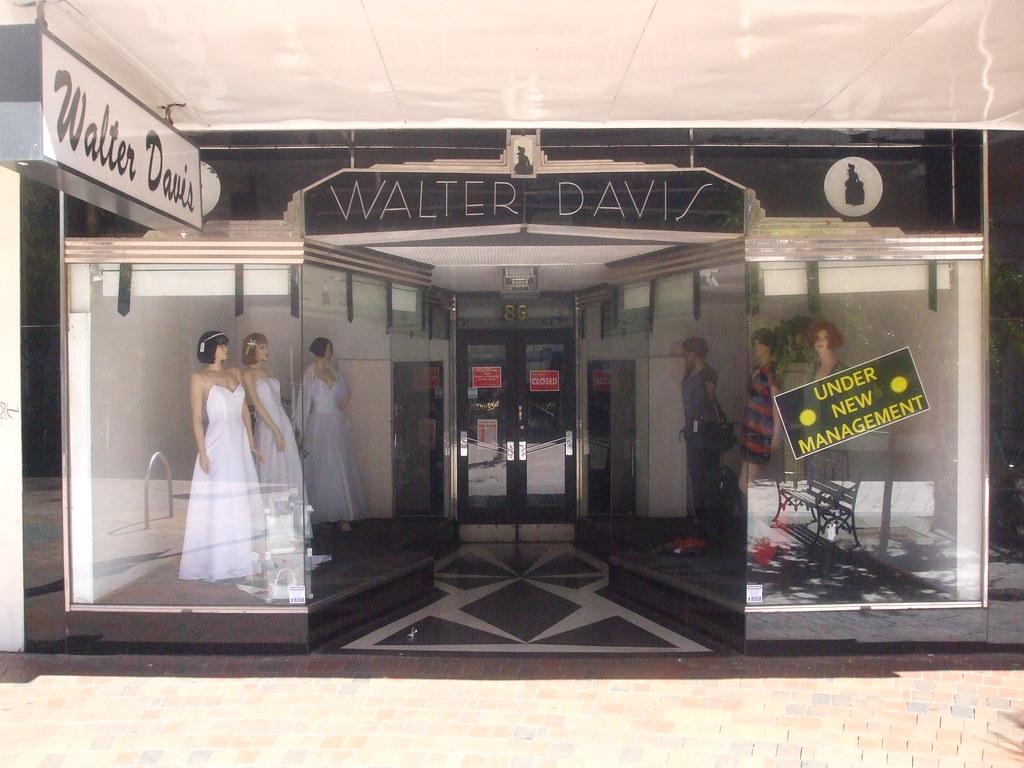 Walter Davis Ballarat Art Deco Shopfront c1924 Walter …