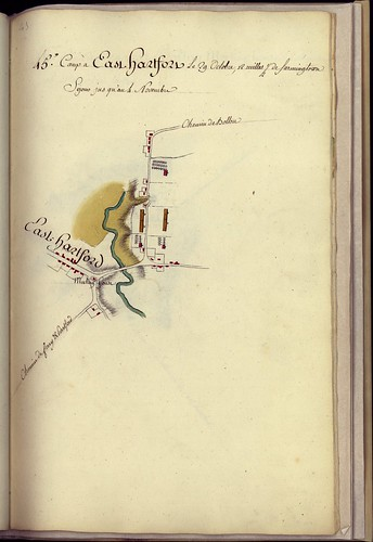 Camp à East Hartford, le 29 Octobre, 12 milles 1/2 de Farmingtown. -- 1782. | by uconnlibrariesmagic