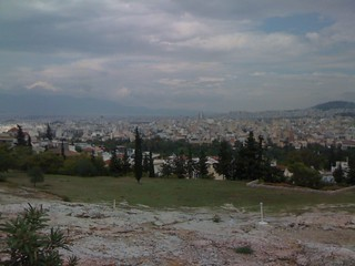 View of Athens from Pnyx, panning left | by Prole Art Threat