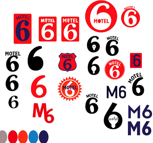 Reworking The Motel 6 Logo - Trying To Stay