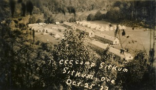 View of CCC Camp Sitkum, Oregon | by OSU Special Collections & Archives : Commons