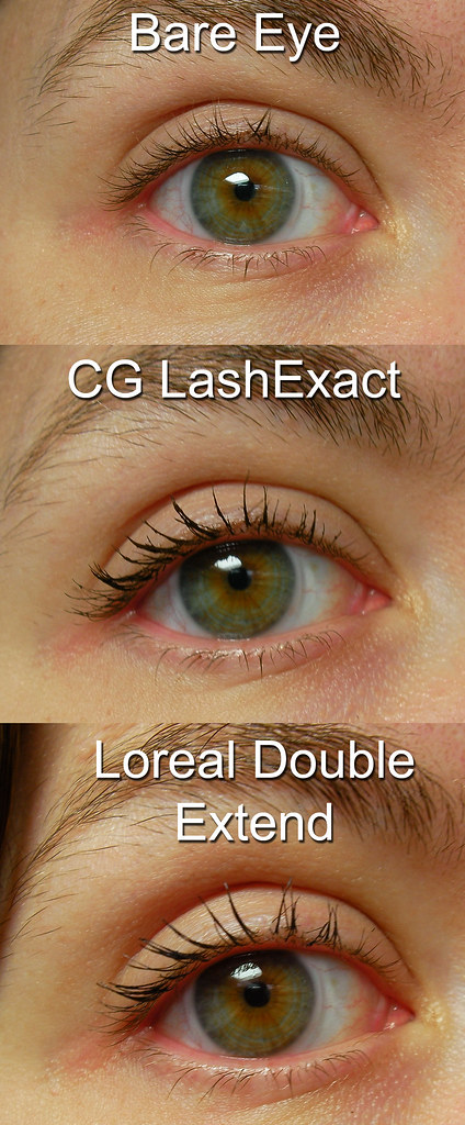 L'oreal Double Extend Mascara Comparison | For a complete re… | Flickr