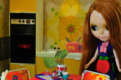 Blythe DollHouse Kitchen | by Fay GG