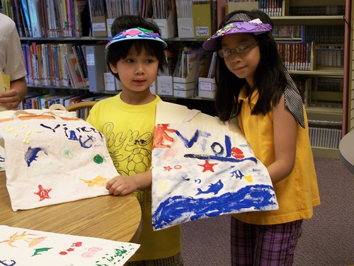 Make your own beach bag. | by derrypubliclibrary