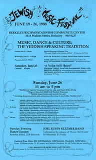 1988 jewish music festival music dance culture the for 1988 dance hits