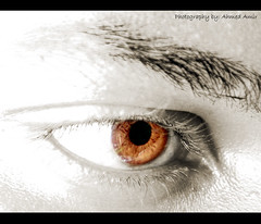 My eye... | by © Ahmed Amir