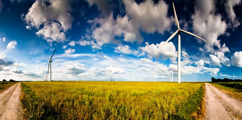 Camber Windfarm panorama (147/365) | by Rob Webb.