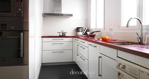 Cocina en blanco y rojo flickr for Cocinas en 3d gratis