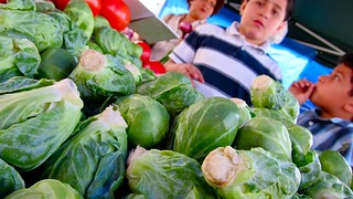 Brussels Sprouts of Fear at Atwater Village Farmers' Market | by djjewelz