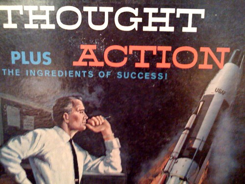 Thought plus action | by magnetbox
