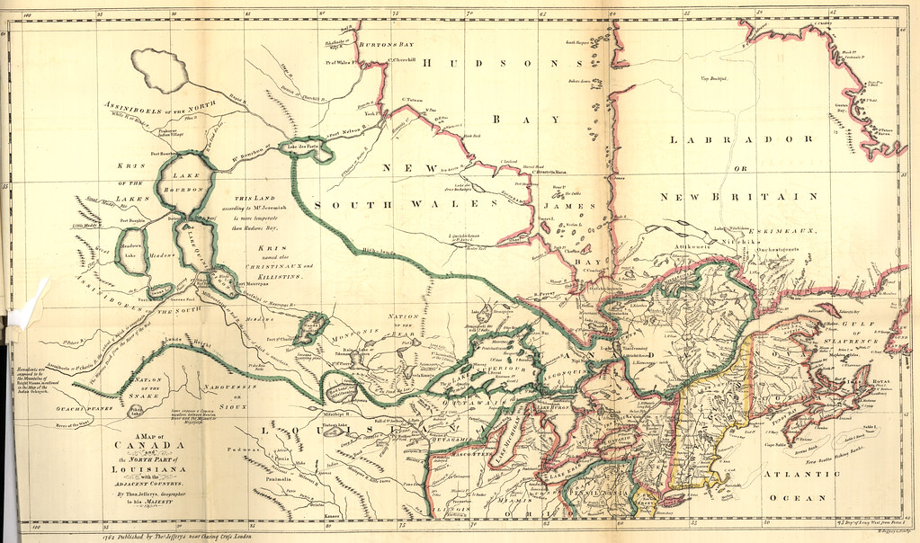 North Louisiana Map.A Map Of Canada And The North Part Of Louisiana With The A Flickr