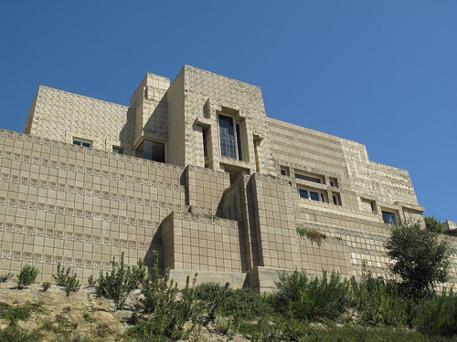 Ennis House by Frank Lloyd Wright | by Scott Beale