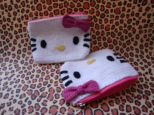 Hello Kitty Purse Hello Kitty Purses Made For My Mom And S Flickr