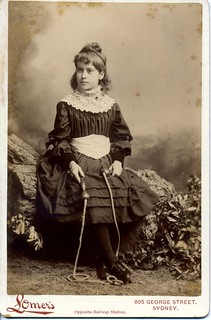 Girl With Skipping Rope Albert Lomer Studio Sydney Flickr