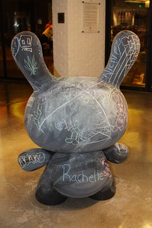 JUNE 3, 2011: 'Chalk It Up' Daily Dunny (back) | by The Cosmopolitan of Las Vegas