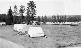"Co. 1309 camp ""Frog Heaven"" 