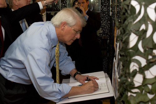 Commissioner Wicker at Sarajevo tunnel | by U.S. Helsinki Commission