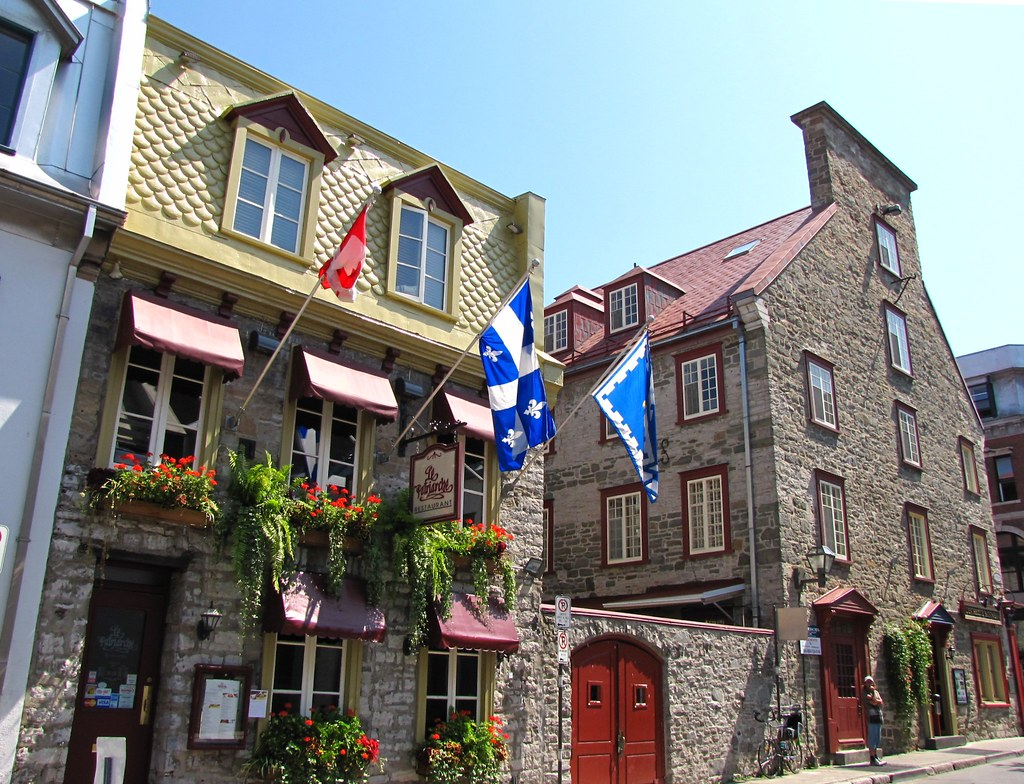le patriarche and maison louis lapouche quebec city quebec canada by snuffy - Maison Canada