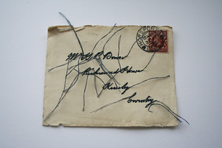 Embroidered Vintage Envelope | by hmroberts1984