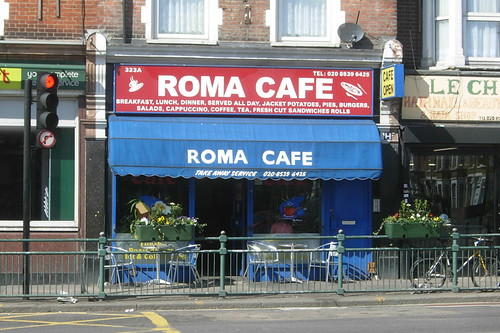 Cafe Roma New Orleans Menu
