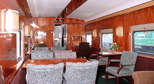 Private Rail Car Mount Vernon Interior Usa The