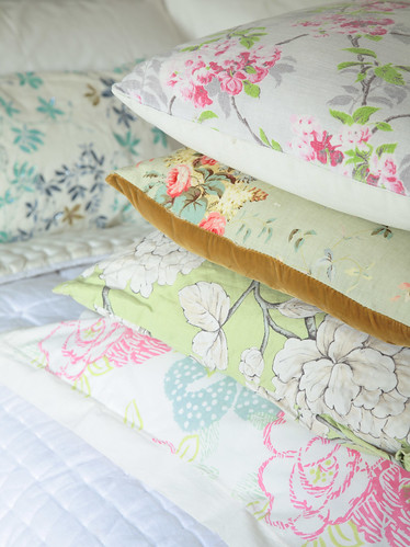 Selina Lake - Floral cushions | by Selina Lake Stylist