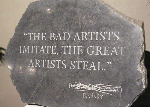 Banksy v Picasso Bad artists imitate Great artists steal | by ahisgett