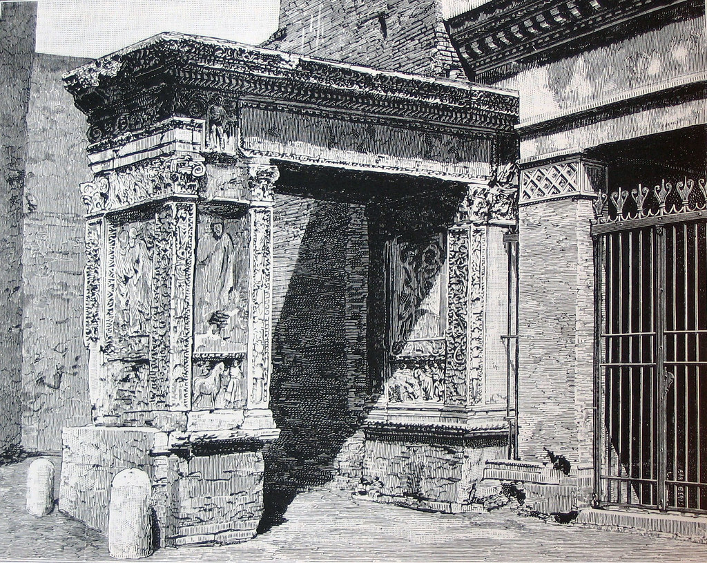 Imagini pentru Arco degli argentari