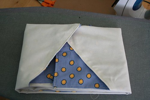 Folded apron | by turning*turning