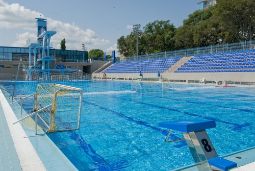 olympic size swimming pool and spa swimming complex varna flickr - Olympic Size Swimming Pool